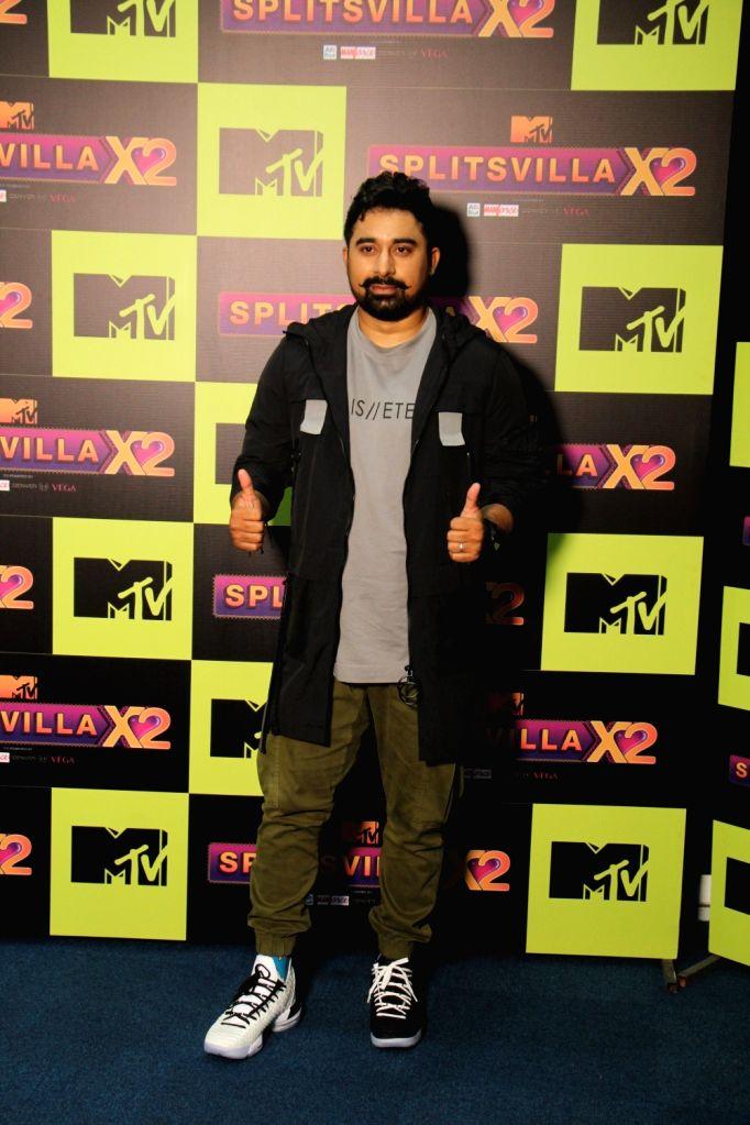 Actor Rannvijay Singh during a programme on MTV SplitsVilla in Mumbai, on July 17, 2019. - Rannvijay Singh
