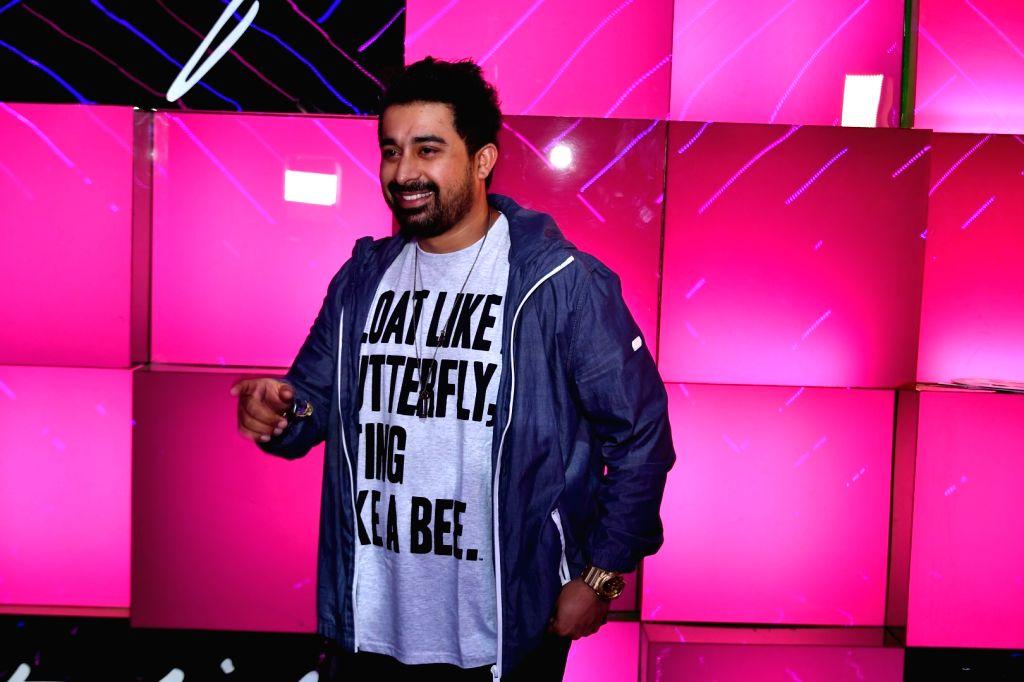 Actor Rannvijay Singh during the launch of Ananya Birla`s debut single Livin the Life, in Mumbai, on Nov 12, 2016. - Rannvijay Singh