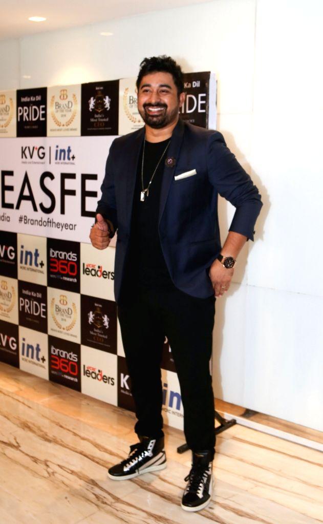 Actor Rannvijay Singha during the third edition of the WCRC Idea-fest 2018 awards in Mumbai on Aug 27, 2018. - Rannvijay Singha