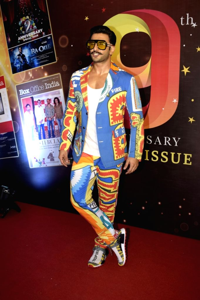 Cover launch of Box Office India magazine - Ranveer Singh