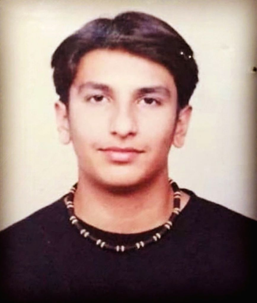 Actor Ranveer Singh on Friday treated his fans to his throwback picture, which appears from his teenage days. - Ranveer Singh
