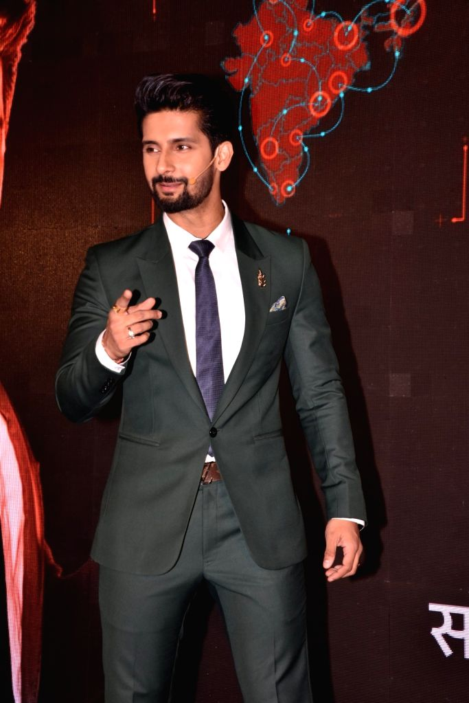 "Actor Ravi Dubey during a press conference regarding his upcoming game reality show ""Sabse Smart Kaun"" in Mumbai on May 21, 2018. - Ravi Dubey"