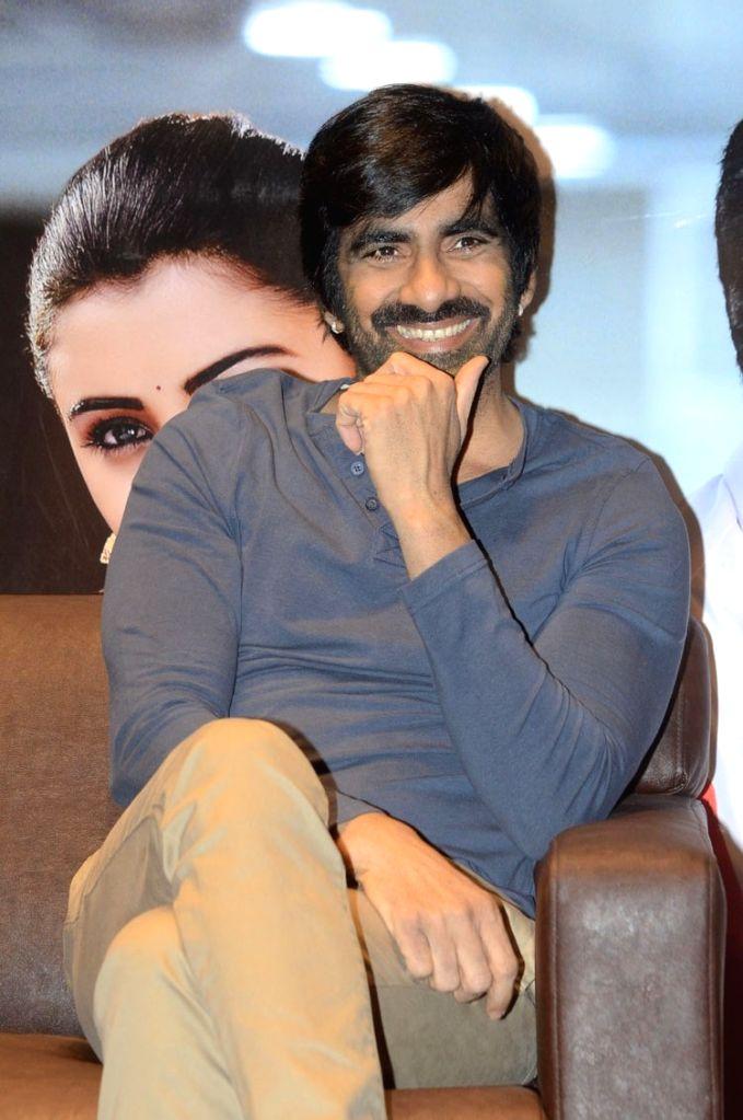 Actor Ravi Teja during a interview. - Ravi Teja