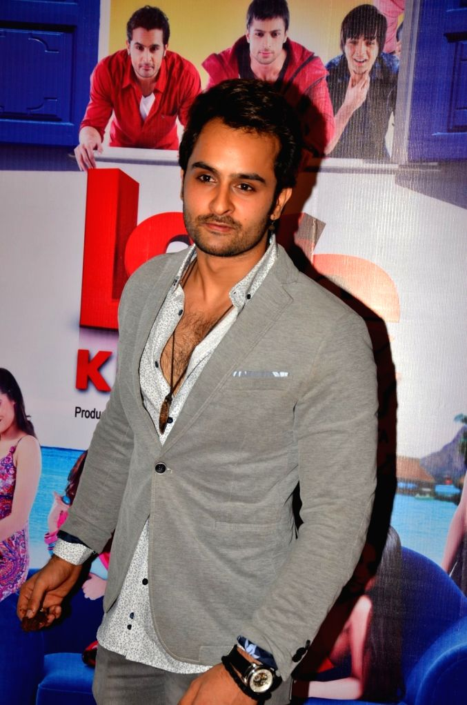 Actor Rishank Tiwari during the audio launch of film Love Ke Funday, in Mumbai on June 22, 2016. - Rishank Tiwari