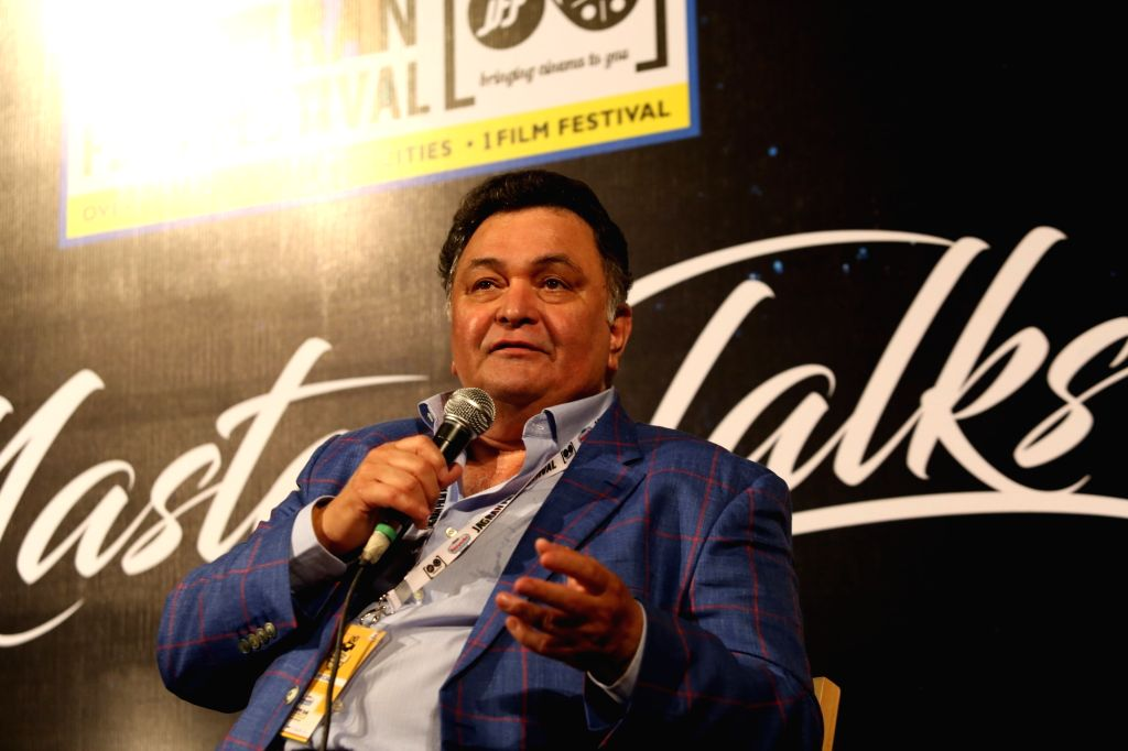 Actor Rishi Kapoor at Jagran Film Festival in New Delhi, on July 2, 2017. - Rishi Kapoor