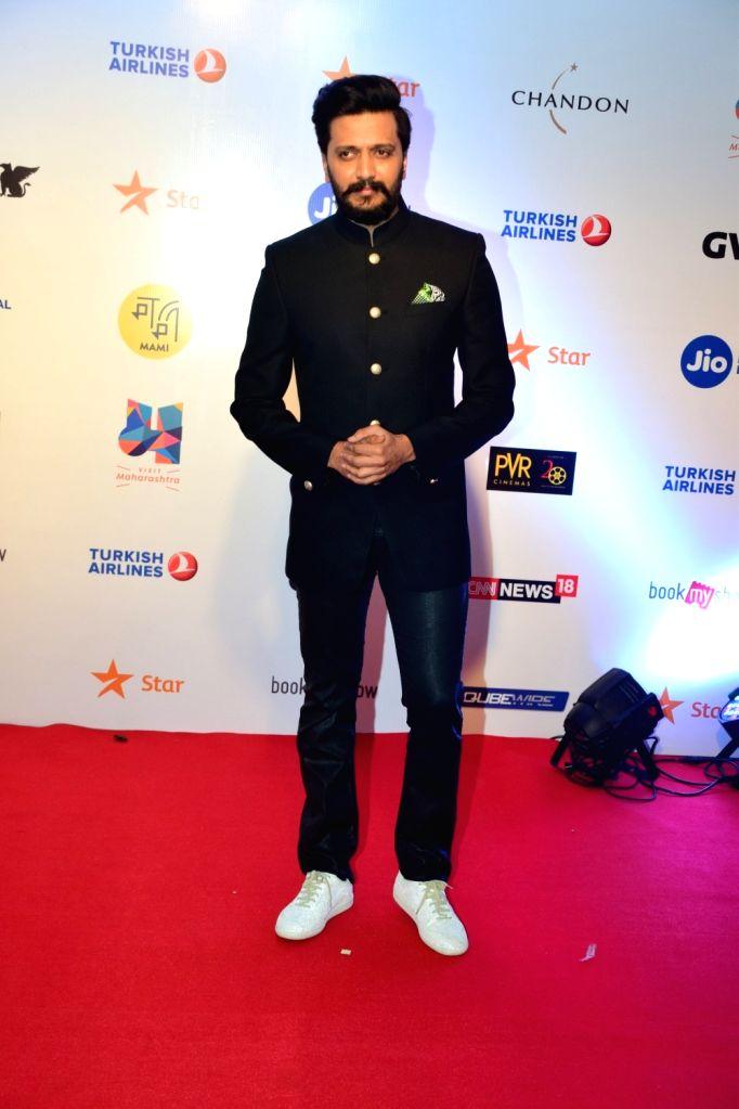 Actor Riteish Deshmukh at Mami Movie Mela 2017 in Mumbai on Oct 12, 2017. - Riteish Deshmukh