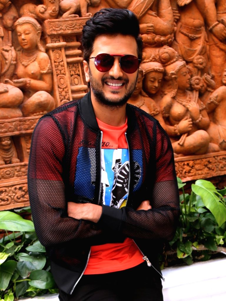 """Actor Riteish Deshmukh during a programme organised to promote """"Marjaavaan"""" in New Delhi on Nov 12, 2019. - Riteish Deshmukh"""