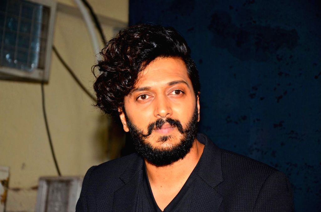 Actor Riteish Deshmukh during the promotion of film Great Grand Masti on the sets of So You Think You Can Dance, in Mumbai, on July 5, 2016. - Riteish Deshmukh