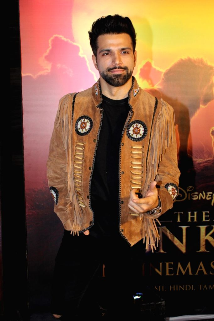"Actor Rithvik Dhanjani at the special screening of upcoming animated film ""The Lion King"" in Mumbai, on July 16, 2019. - Rithvik Dhanjani"