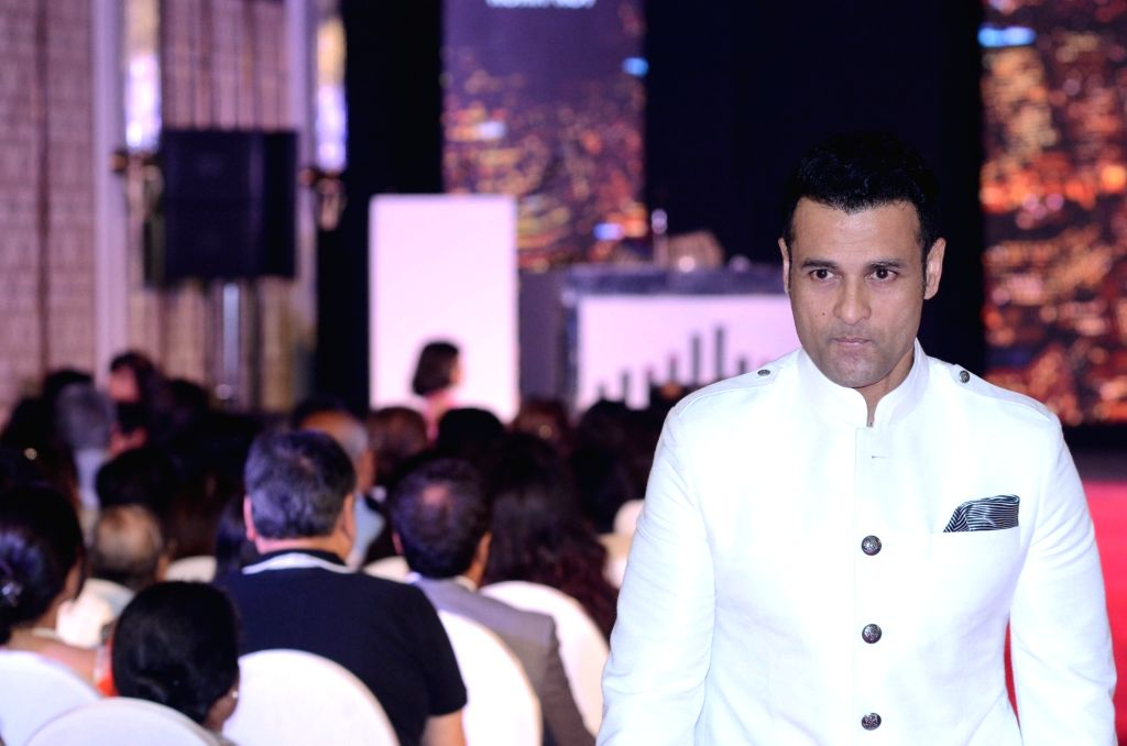 "Actor Rohit Roy walks the ramp for a cause at CSA`s (Catalysts for Social Action) fundraiser ""The Eternal Bond"" in Mumbai on Sept 17, 2017. - Rohit Roy"