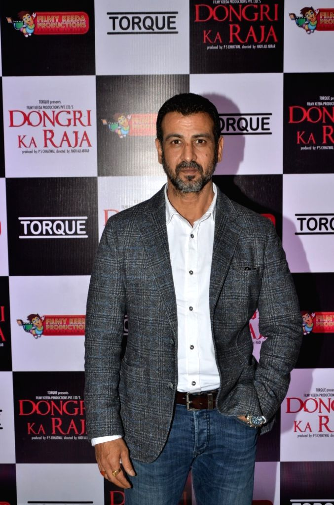 Actor Ronit Roy during the trailer launch of film Dongri Ka Raja in Mumbai on Oct 12, 2016. - Ronit Roy
