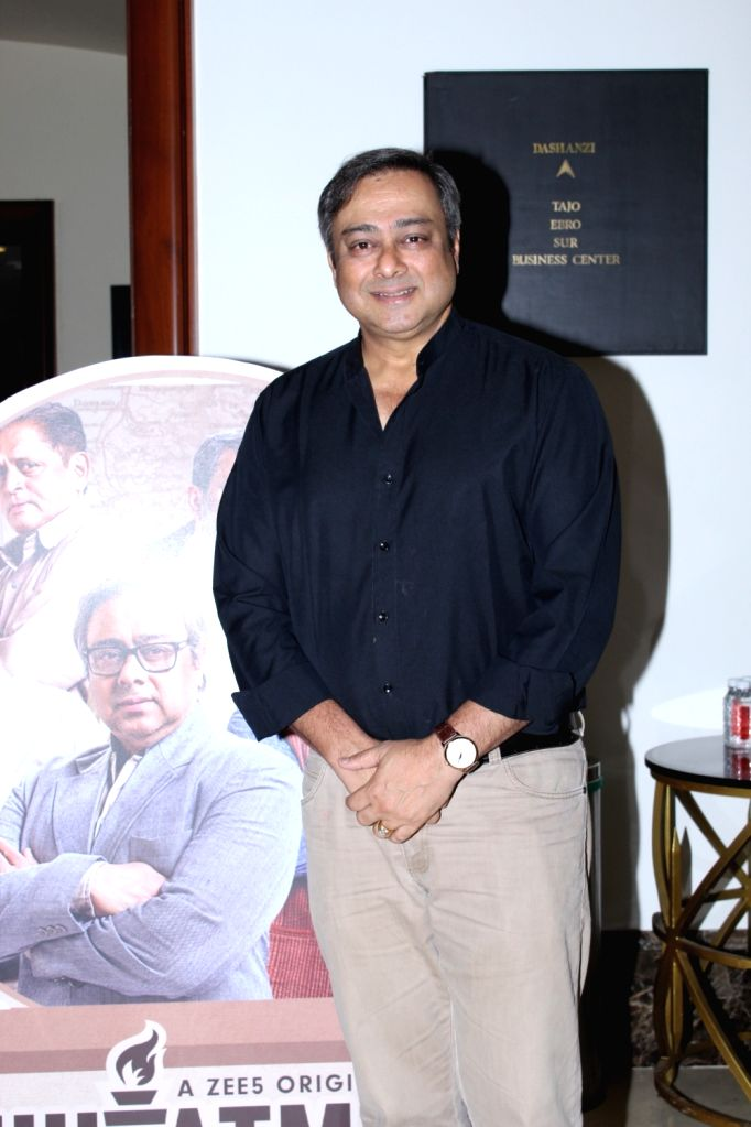 Actor Sachin Khedekar at the screening of the documentary 'Muhurth' in Mumbai, on April 25, 2019. - Sachin Khedekar