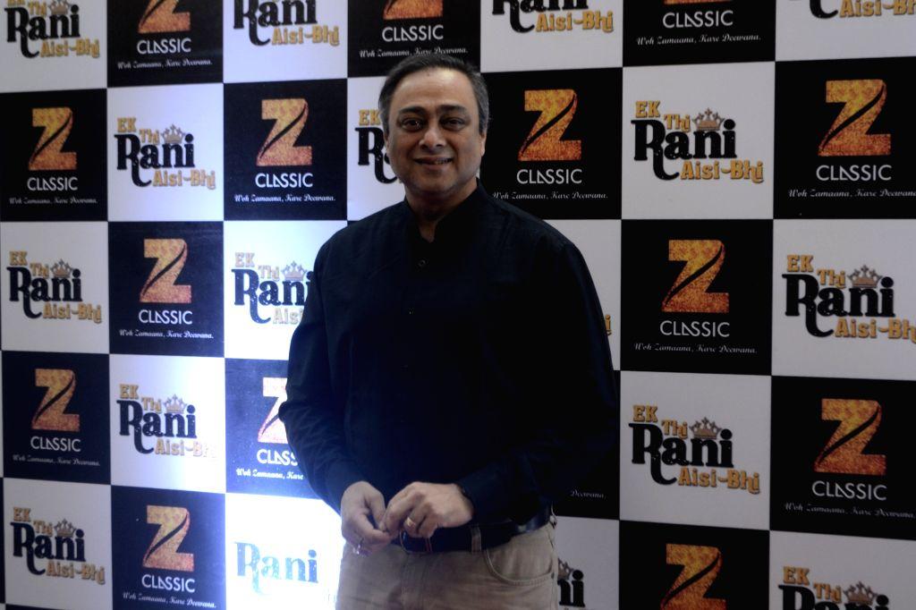 "Actor Sachin Khedekar during the red carpet of screening of film ""Ek Thi Rani Asis Bhi"" at Siri Fort auditorium in New Delhi on April 18, 2017. - Sachin Khedekar"