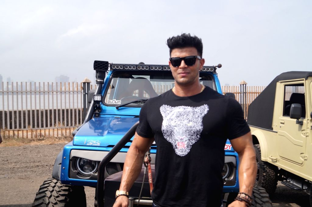 "Actor Sahil Khan during the flagging off ceremony of car rally - ""Off Roading"", in Mumbai on May 27, 2018. - Sahil Khan"