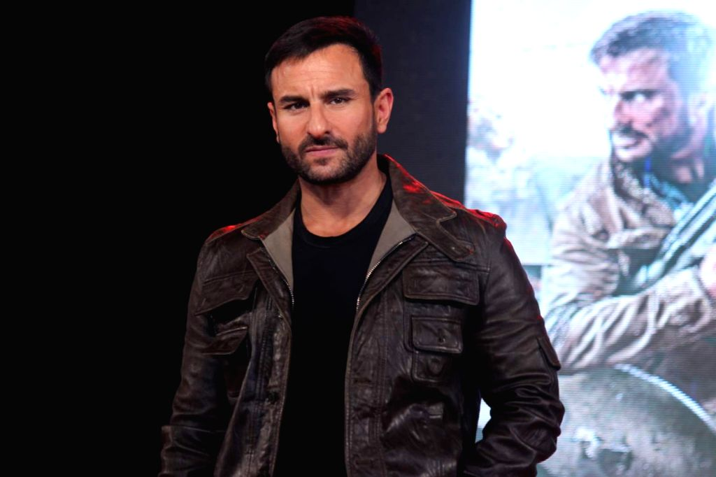 Actor Saif Ali Khan during the promotion of film Phantom in Mumbai on August 15, 2015. - Saif Ali Khan