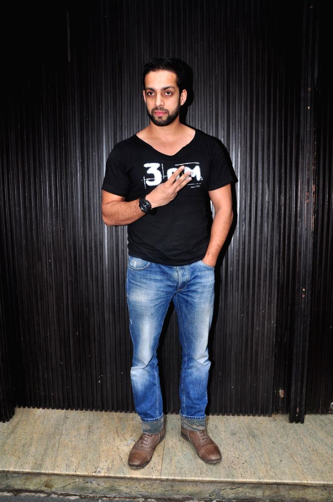 Actor Salil Acharya during the music launch of film 3AM, in Mumbai, on Sept 9, 2014. - Salil Acharya