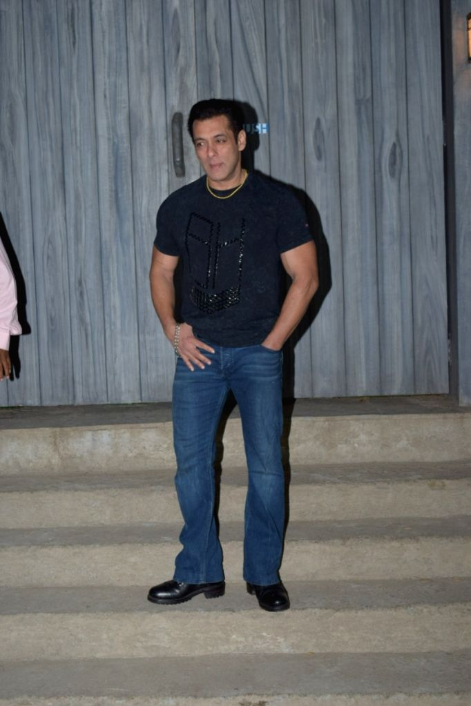 "Actor Salman Khan at the promotions of upcoming film ""Dabangg 3"" in Mumbai on Dec 6, 2019. - Salman Khan"