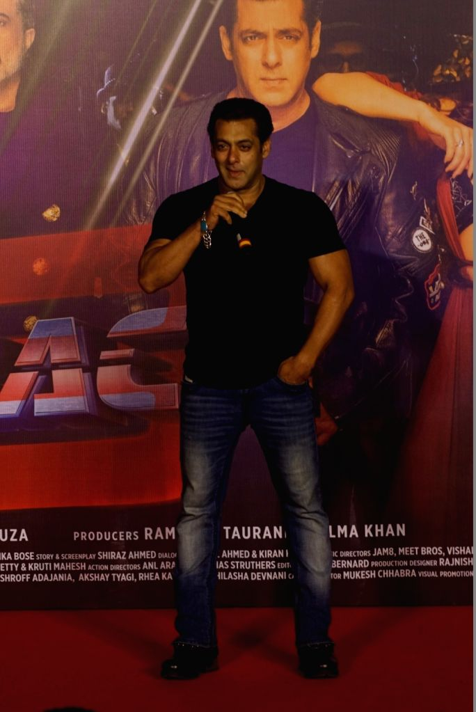 "Actor Salman Khan during the song launch ""Allah Duhai Hai"" of upcoming film ""Race 3"" in Mumbai on June 1, 2018. - Salman Khan"