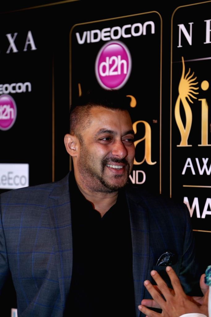Actor Salman Khan during Videocon d2h IIFA Rocks 2016 in Madrid on June 24, 2016. - Salman Khan