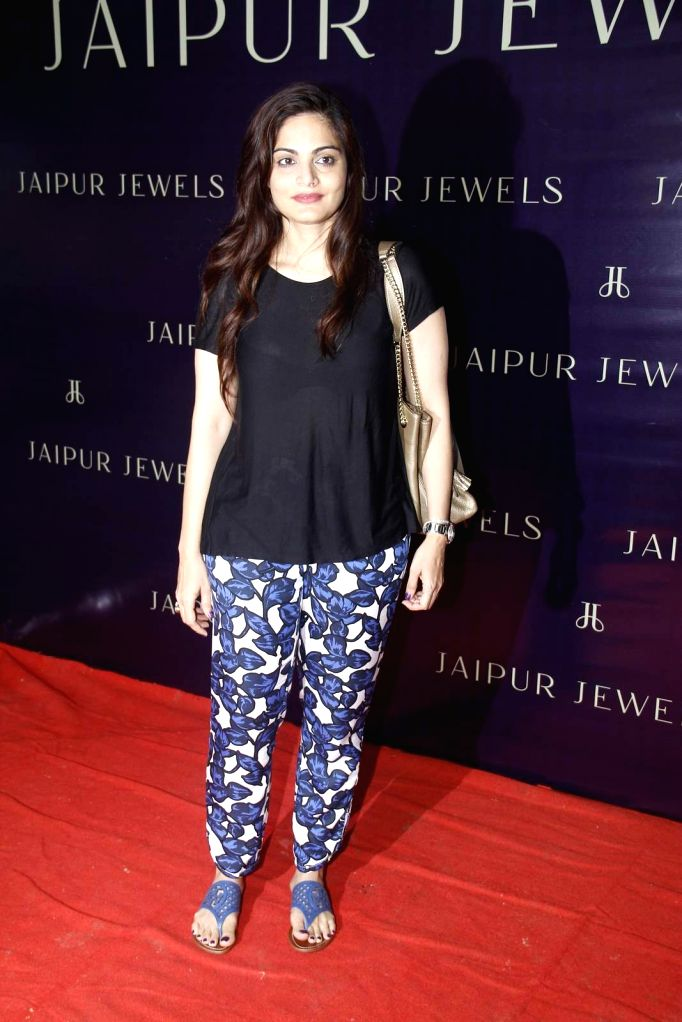Actor Salman Khan's sister Alvira Khan during the launch of Jewels new collection Rise Anew in Mumbai, on Aug 12, 2015. - Salman Khan and Alvira Khan