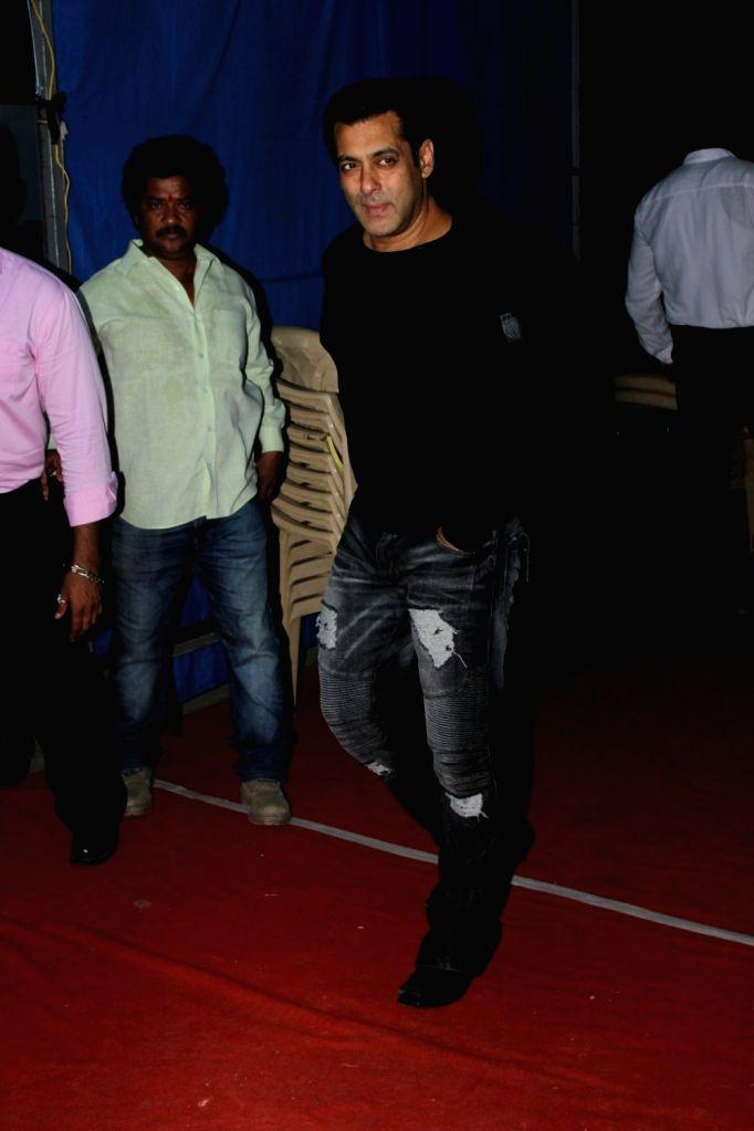 "Actor Salman Khan spotted during the promotion of film ""Tubelight""  at Mehboob Studio in Mumbai on June 20, 2017. - Salman Khan"
