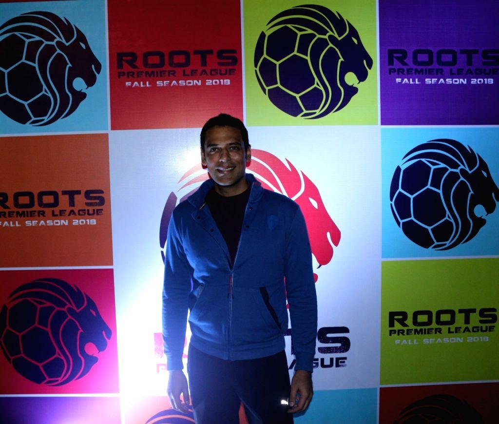 Actor Samir Kochhar during Roots Premier League 2018 in Mumbai on Sept 8, 2018. - Samir Kochhar