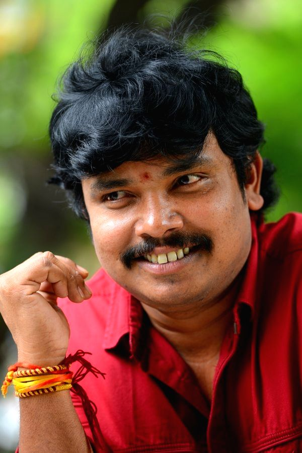 Actor Sampoornesh Babu during a interview in Hyderabad. - Sampoornesh Babu