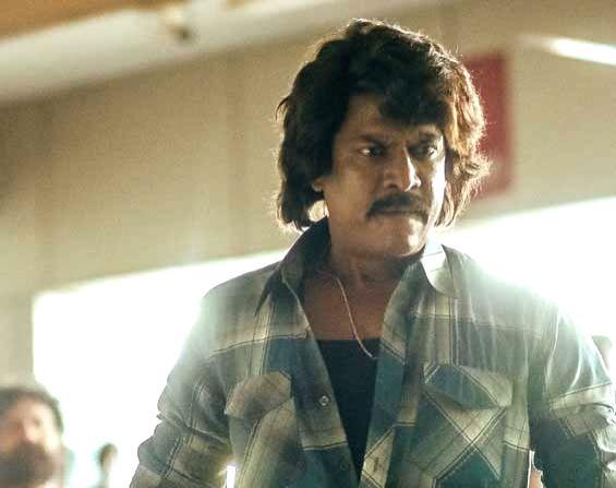 Actor Samuthirakani's first look as Katari from film 'Krack'. - Samuthirakan