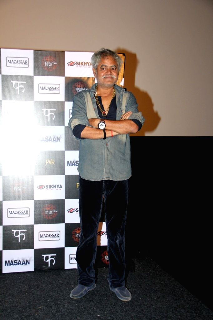 Actor Sanjai Mishra during the trailer launch of film Masaan in Mumbai, on June 26, 2015. - Sanjai Mishra