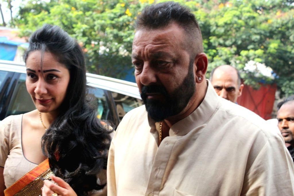 Sanjay Dutt birthday: Actor misses wife Maanayata and kids ...
