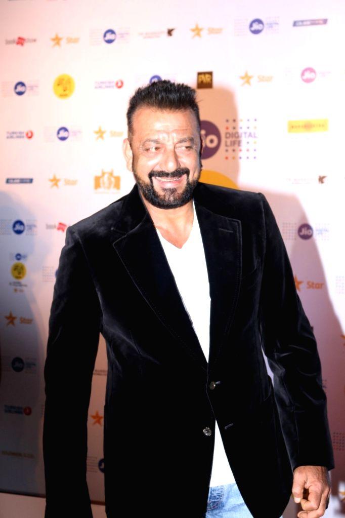 Actor Sanjay Dutt during the closing ceremony of Jio MAMI 18th Mumbai Film Festival in Mumbai on Oct. 27, 2016. - Sanjay Dutt