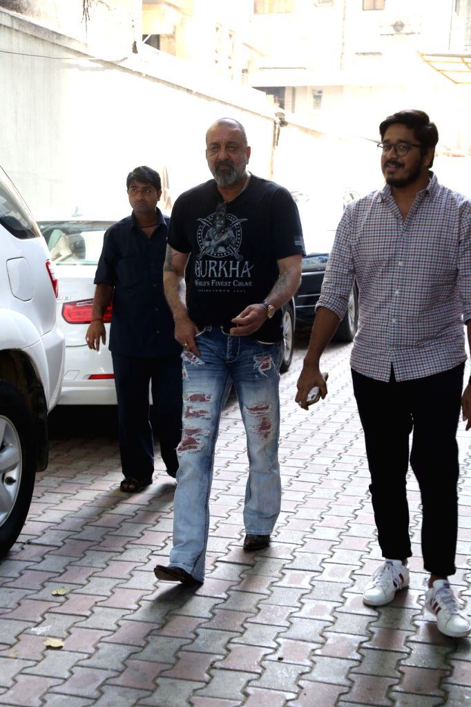 Actor Sanjay Dutt seen at Mumbai's Bandra, on May 25, 2019. - Sanjay Dutt