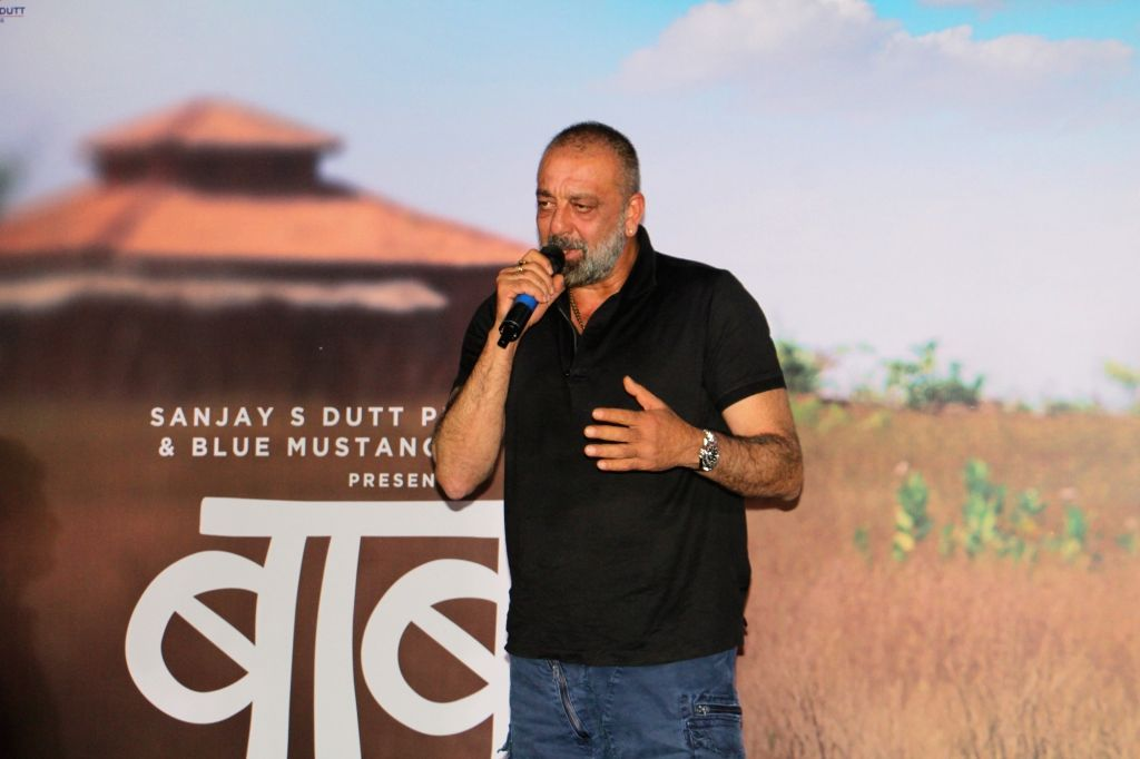 "Actor Sanjay Dutt trailer launch of Marathi film, ""Baba"" in Mumbai on July 16, 2019. - Sanjay Dutt"