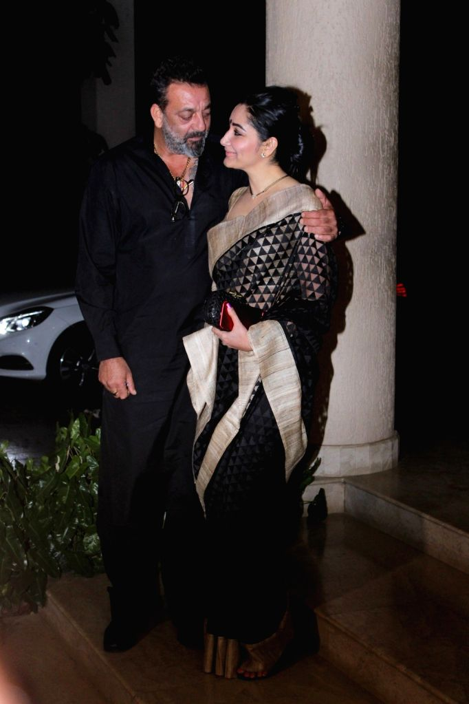 Sanjay Dutt celebrates the completion of film Bhoomi