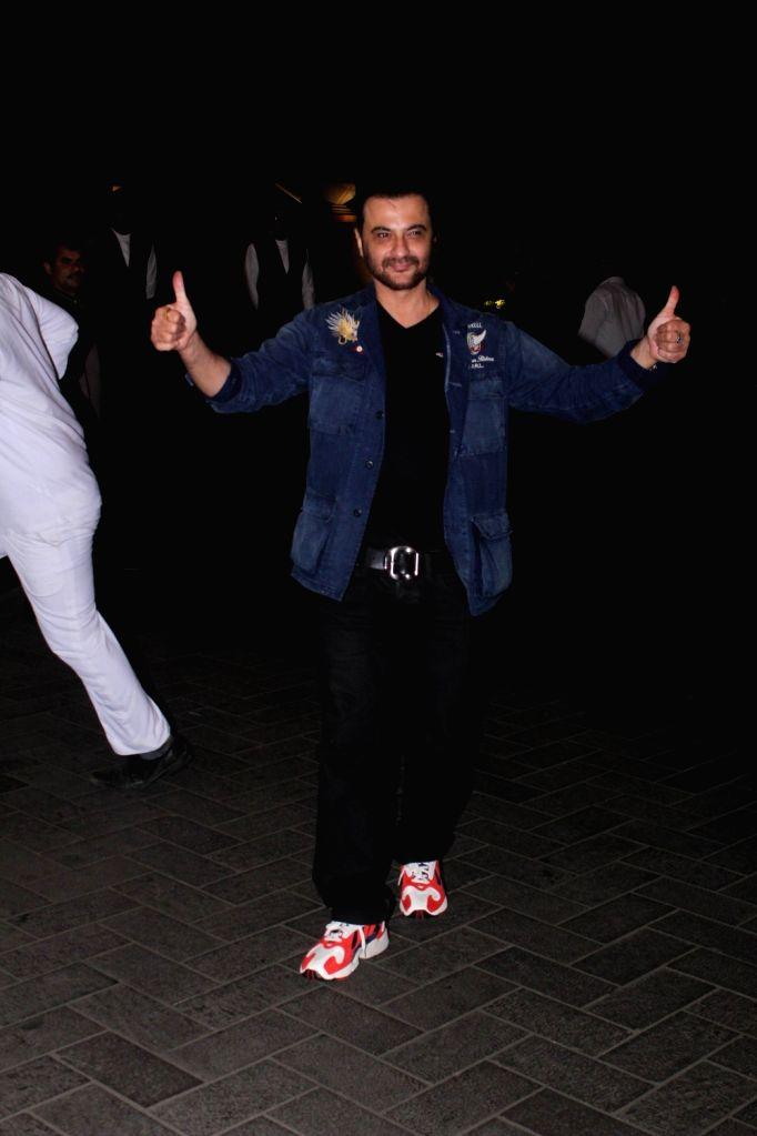 Actor Sanjay Kapoor at actress Kiara Advani birthday celebration in Mumbai on July 30, 2018. - Sanjay Kapoor and Kiara Advani