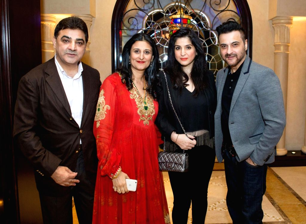 Actor Sanjay Kapoor at the Anil Kapoor`s 59th birthday celebration party hosted by Chairman Channel 2 Group Ajay Sethi in Dubai, on Jan 5 ,2016. - Sanjay Kapoor