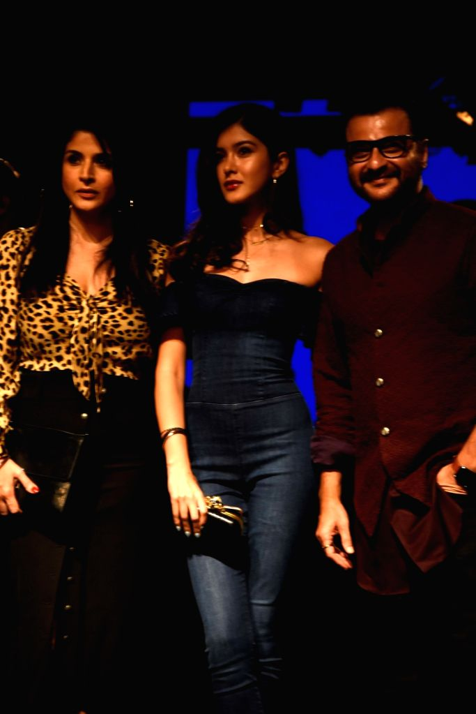 Actor Sanjay Kapoor at the Lakme Fashion Week Winter/Festive 2019 in Mumbai on Aug 24, 2019. - Sanjay Kapoor