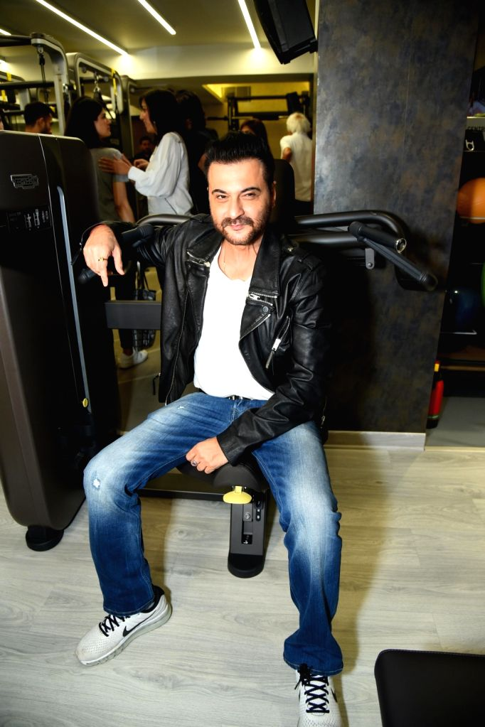 Actor Sanjay Kapoor at the launch of a fitness center in New Delhi on Sept 26, 2017. - Sanjay Kapoor