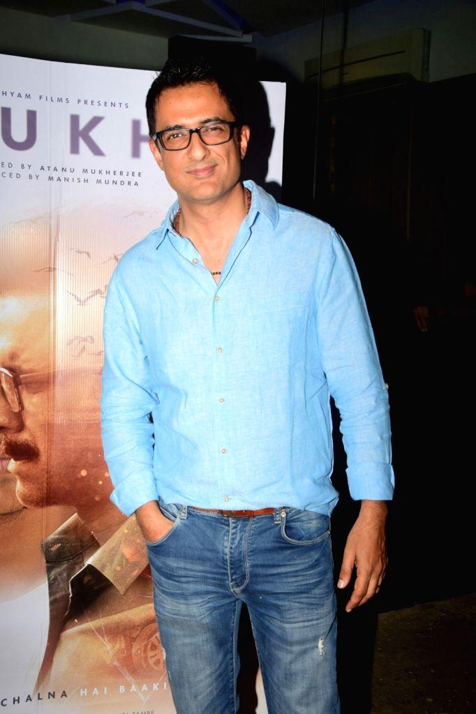 "Actor Sanjay Suri during the screening of their upcoming film ""Rukh"" in Mumbai on Oct 21, 2017. - Sanjay Suri"
