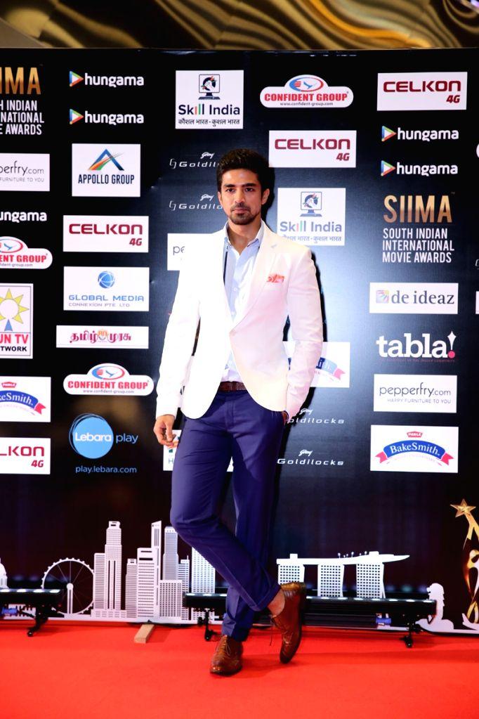 Actor Saqib Saleem at SIIMA Awards 2016. - Saqib Saleem