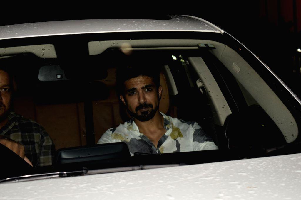 """Actor Saqib Saleem at the special screening of upcoming film """"Dhadak"""" in Mumbai on July 18, 2018. - Saqib Saleem"""