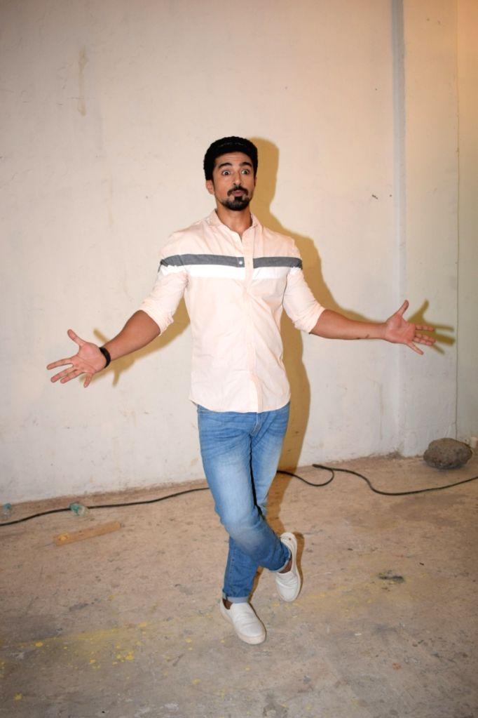 "Actor Saqib Saleem during the media interaction of his upcoming film ""Race 3"" at Mehboob studio in Bandra, Mumbai on May 19, 2018. - Saqib Saleem"