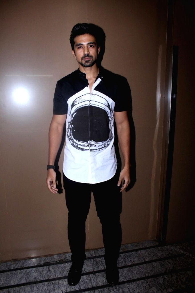 "Actor Saqib Saleem during the special screening of film ""Partition: 1947"" in Mumbai on Aug 17, 2017. - Saqib Saleem"
