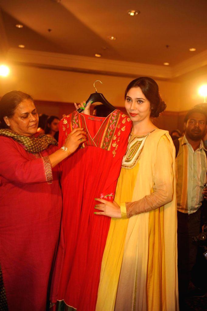 Actor Sasha Agha unveils Deepa Tracy`s affordable luxury high fashion apparel label `Zinnia` in Mumbai, on August 1, 2014. - Sasha Agha