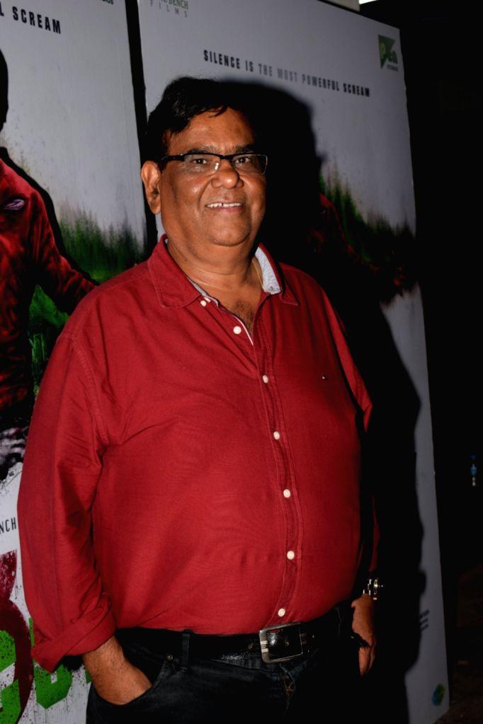 """Actor Satish Kaushik at the special screening of film """"Mercury"""" in Mumbai on April 12, 2018. - Satish Kaushik"""