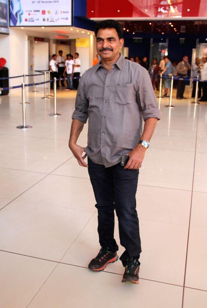 Actor Sayaji Shinde during the 47th International Film Festival of India (IFFI-2016), in Panaji, Goa on Nov 27, 2016. - Sayaji Shinde