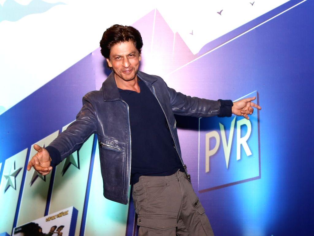 Actor Shah Rukh Khan during the curtail fall at PVR Anupam in New Delhi on Oct 24, 2019. - Shah Rukh Khan