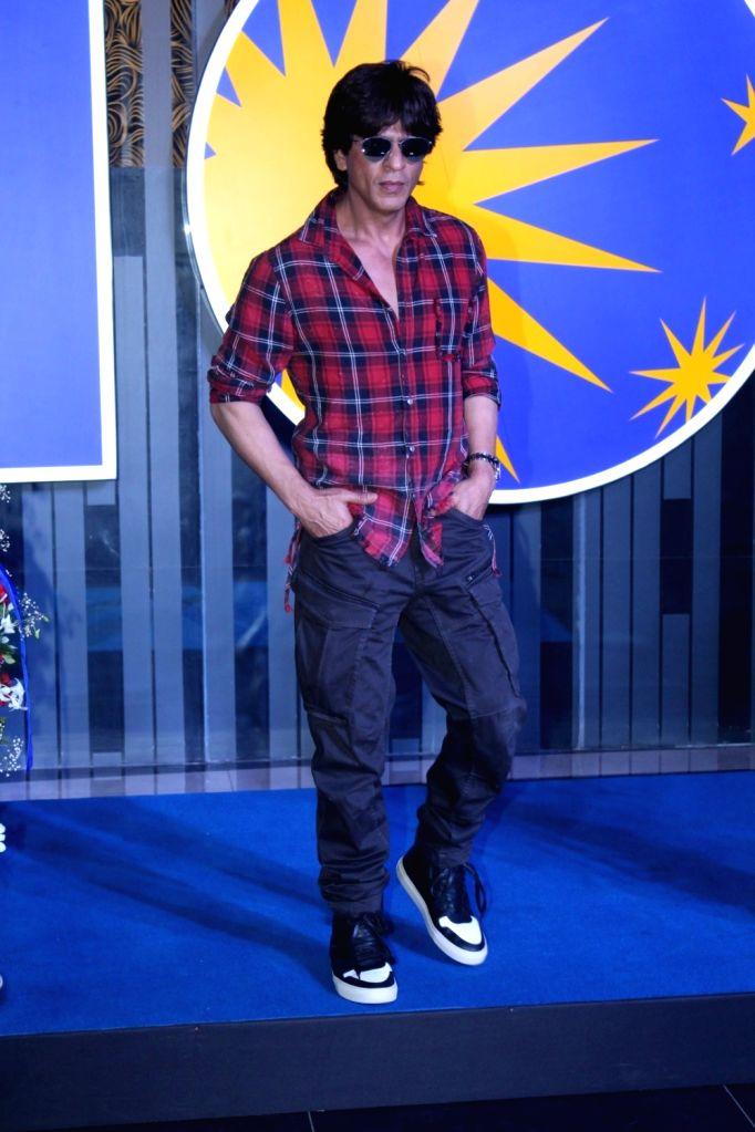 Actor Shah Rukh Khan during the inauguration of new INOX theater in Mumbai on May 11, 2017. - Shah Rukh Khan