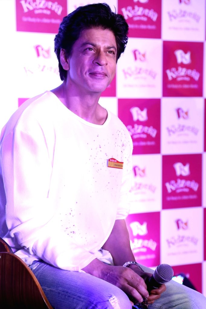 Actor Shah Rukh Khan during the launch of KidZania Delhi NCR, in Noida, on May 31, 2016. - Shah Rukh Khan