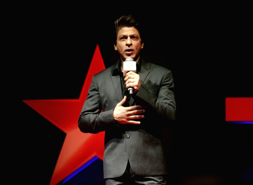 """Actor Shah Rukh Khan during the launch of """"TED Talks India: Nayi Soch"""" in Mumbai on Oct 5, 2017. - Shah Rukh Khan"""